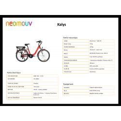 Vélo électrique Néomouv Kalys hydraulique 2018