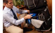 Accessoires BURLEY Sacoche TRANSIT noir inférieur pour remorque Burley Travoy