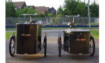 Triporteur et biporteur électrique NIHOLA Vélo électrique triporteur cargo Nihola