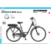 Organ E-Bike Gitane 2015