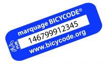 Antivol vélo électrique  Marquage BicyCode