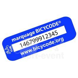 Accessoires velo electrique  Marquage BicyCode