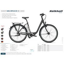2014 KALKHOFF Kalkhoff SAHEL IMPULSE I8 HS 8G 15AH 36V 2014