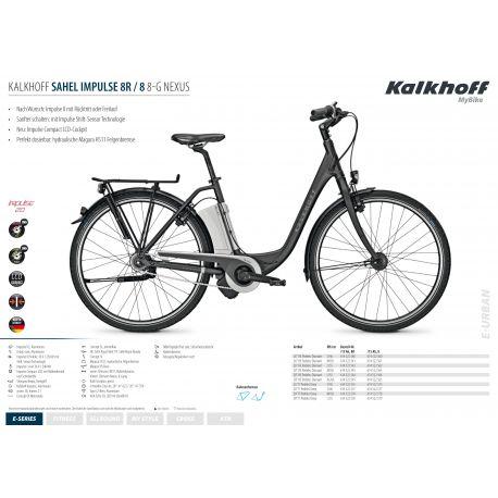 Kalkhoff SAHEL IMPULSE I8 HS 8G 15AH 36V 2014