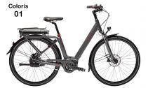 Capacité batterie vélo électrique 36 V - 11.1 Ah / 400 Wh PEUGEOT Vélo électrique Peugeot eC01 Automatique 2018