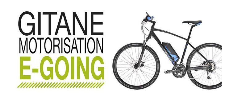 Gitane motorisation E-Going