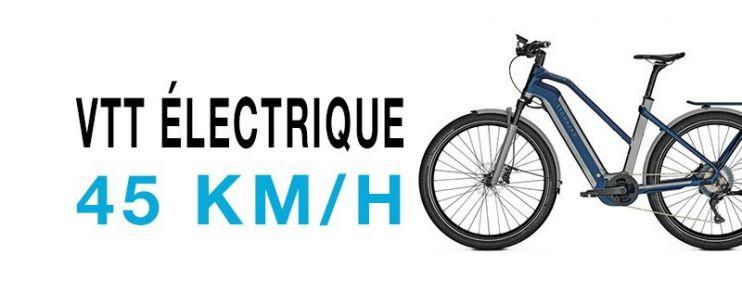 VTT électrique 45km/h