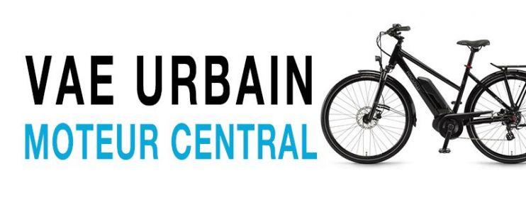 Vélo électrique Urbain Moteur Central