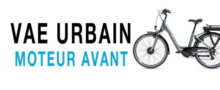 Vélo électrique Urbain Moteur Avant