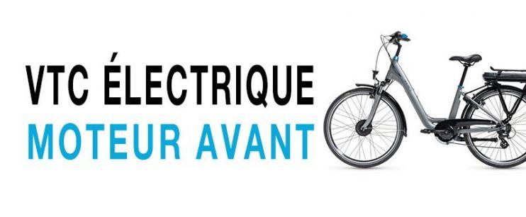 Vélo électrique VTC Moteur Avant