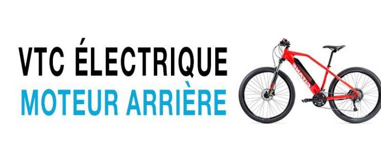 Vélo électrique VTC Moteur Arrière