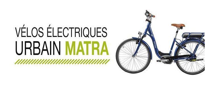 Vélo électrique Urbain Matra