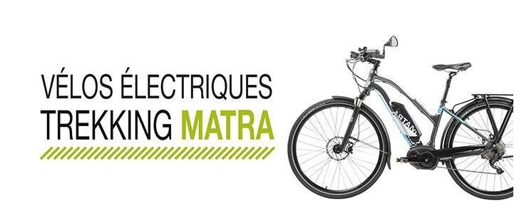 Vélo électrique Trekking Matra