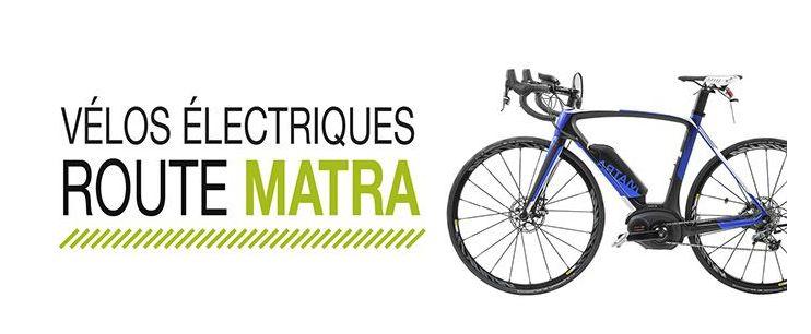 Vélo électrique Route Matra