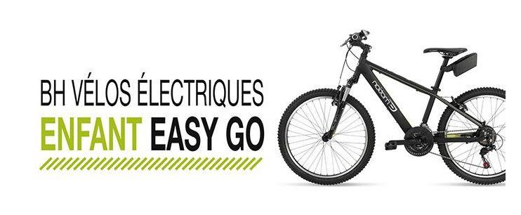 Vélo électrique enfant BH Easy Go
