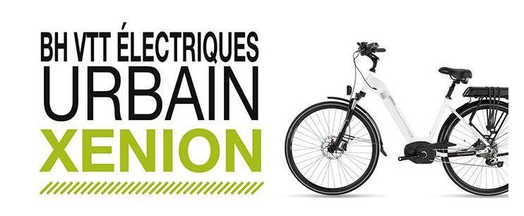 Vélo électrique urbain Xenion