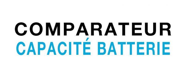 Capacité de batterie vélo électrique