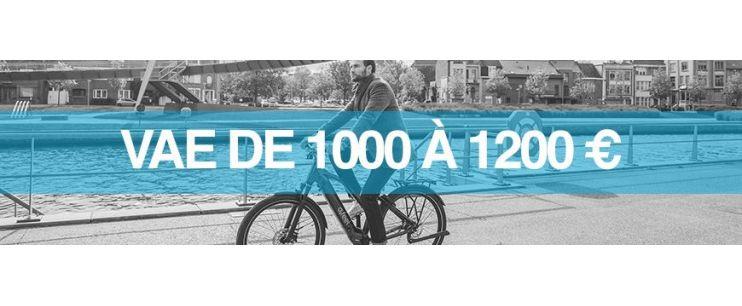 Vélo électrique prix : 1000 à 1200 euros