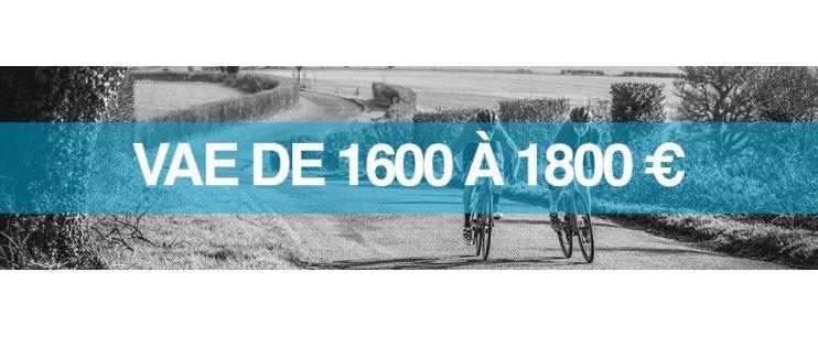 Vélo électrique prix : 1600 à 1800 euros