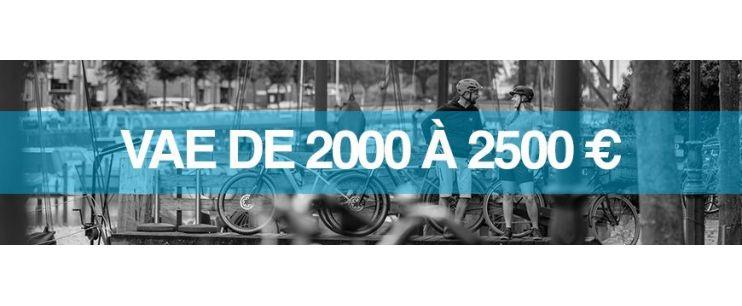 Vélo électrique prix : 2000 à 2500 euros