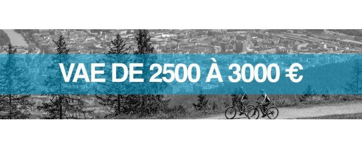 Vélo électrique prix : 2500 à 3000 euros