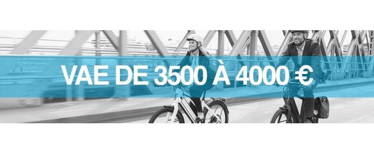 Vélo électrique prix : 3500 à 4000 euros