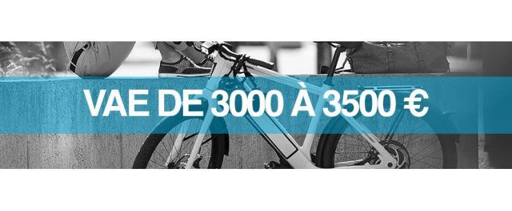 Vélo électrique prix : 3000 à 3500 euros