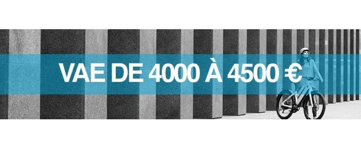 Vélo électrique prix : 4000 à 4500 euros