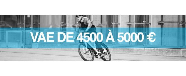 Vélo électrique prix : 4500 à 5000 euros