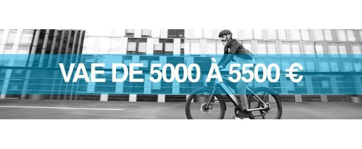 Vélo électrique prix : 5000 à 5500 euros