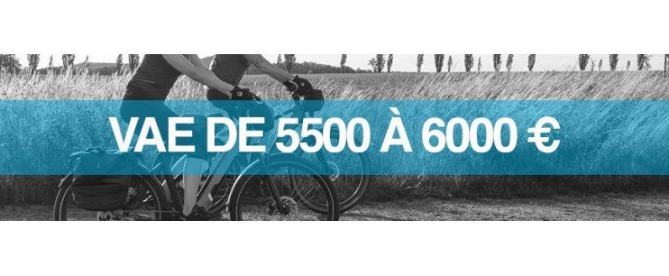 Vélo électrique prix : 5500 à 6000 euros