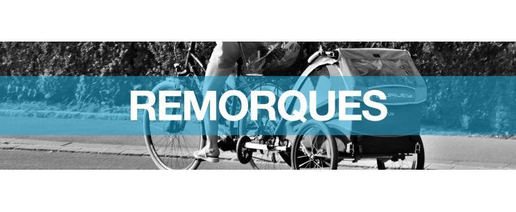 Remorques pour vélo électrique