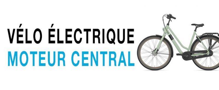 Vélo électrique moteur central (pédalier)