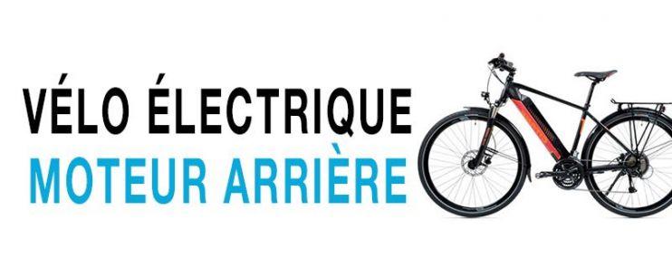 Vélo électrique moteur arrière