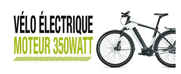 Vélo électrique Speed Bike moteur 350 W