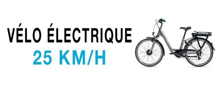 Vélo électrique 25 Km/h