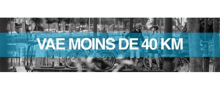 Autonomie vélo électrique : moins de 40 km