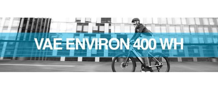 Capacité batterie vélo électrique 36 V - 11.1 Ah / 400 Wh