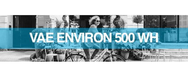 Capacité batterie vélo électrique 36 V - 13.8 Ah / 500 Wh