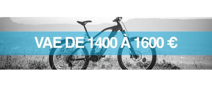 Vélo électrique prix : 1400 à 1600 euros