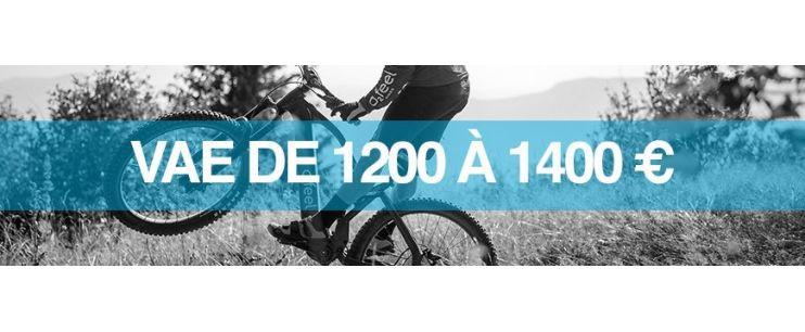 Vélo électrique prix : 1200 à 1400 euros