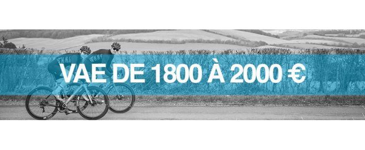 Vélo électrique prix : 1800 à 2000 euros