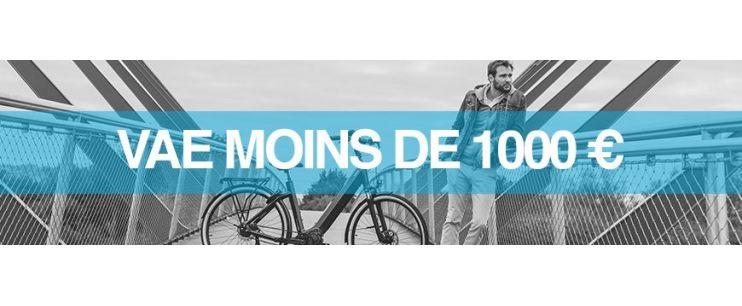 Vélo électrique prix : moins de 1000 euros