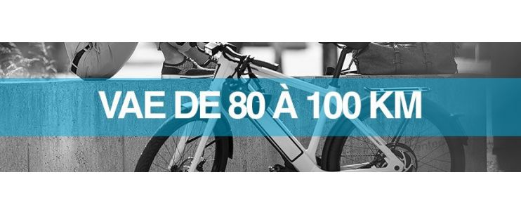 Autonomie vélo électrique : 80 à 100 km