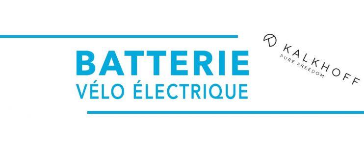 Batterie vélo électrique Kalkhoff