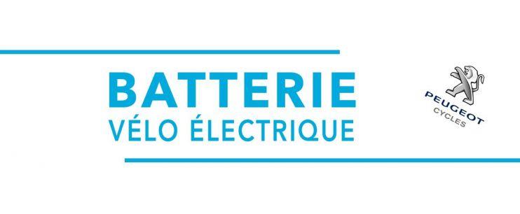 Batterie vélo électrique Peugeot