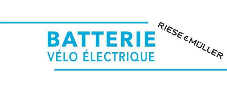 Batterie vélo électrique Riese and Müller
