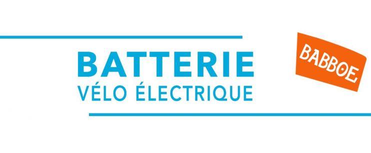 Batterie vélo électrique Babboe