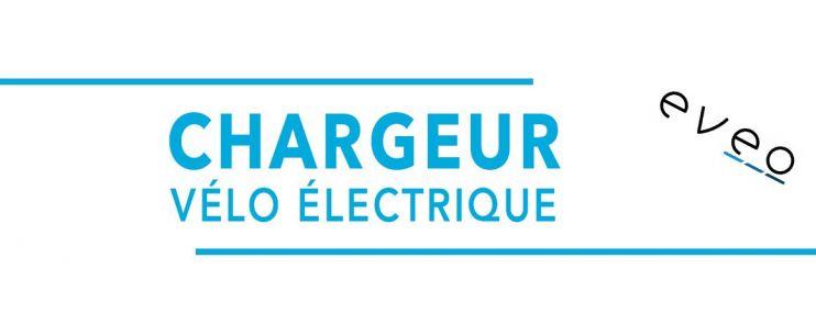 Chargeur vélo électrique Eveo