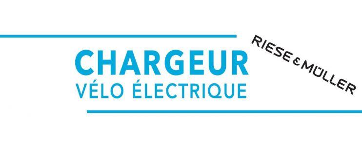 Chargeur vélo électrique Riese and Müller